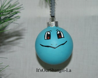 Squritle Pokemon Christmas Ornament - Video Game, Kanto Region, Indigo League, Starter Pokemon, Water Type