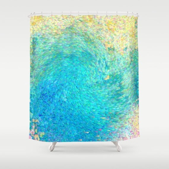 Artistic Shower Curtain Coral Reef Ocean