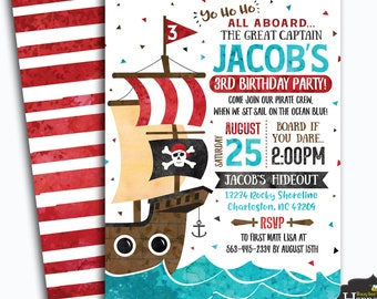 Pirate invitations etsy pirate invitation pirate birthday invitation pirate invite pirate printable invitation digital file by busy bees happenings filmwisefo