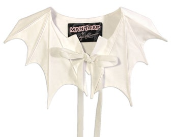 White Bat Collar