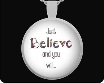 Just Believe Necklace