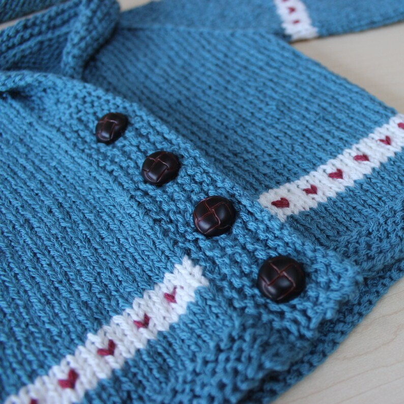 Newborn Fair Isle Sweater and Hat
