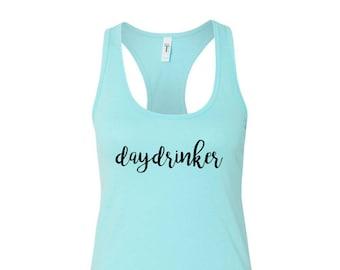 Day Drinker Women's Racerback Tank