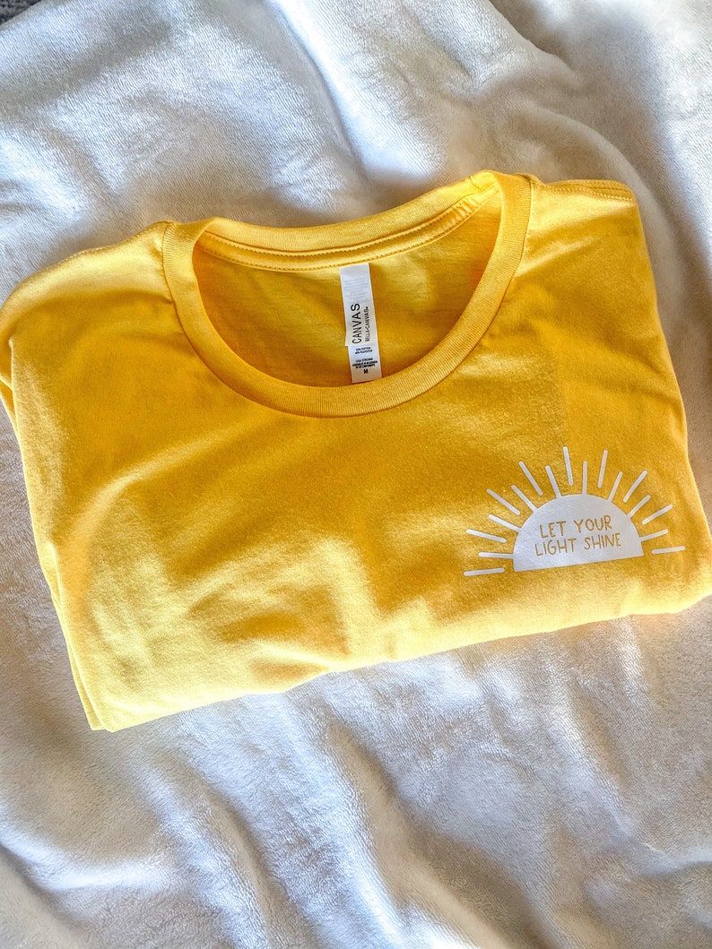 Let Your Light Shine Tee Shirt