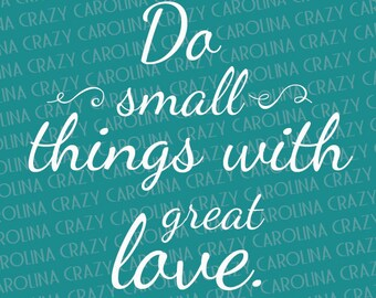 Small Things Quotes Etsy