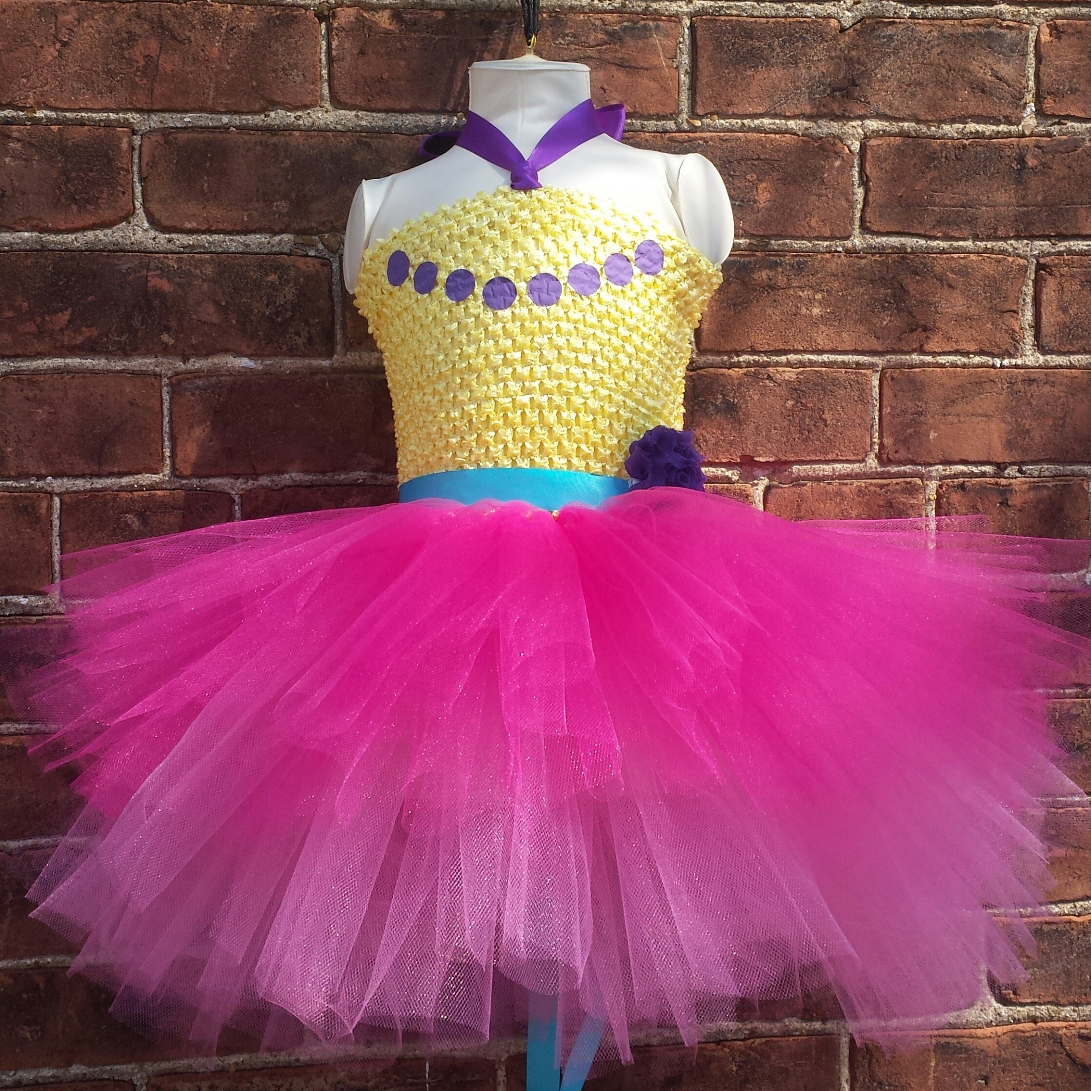 Halloween Costumes For Kids Girls Tulle Princess Tutu Dress Pageant Fancy Hand