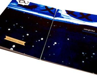 Midnight Blue (Vanessa Jimenez Gabb), micro chapbook