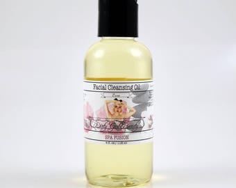 Luxe Facial Cleansing Oil with Argan Oil - 4 fl. oz. Bottle - Vegan