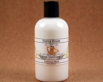Luxe Shaving Mousse - 8 fl. oz. Bottle - Vegan