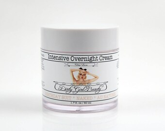 Vita Luxe Intensive Overnight Cream with Vitamin C and Allantoin - 1.7 fl. oz. Jar - Vegan
