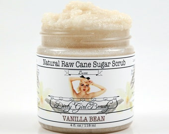Luxe Raw Cane Sugar Scrub - 4 fl. oz. Jar