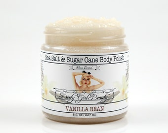 Sea Salt & Sugar Cane Body Polish - 8 fl. oz. Jar