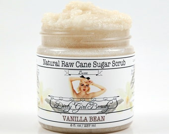 Luxe Raw Cane Sugar Scrub - 8 fl. oz. Jar