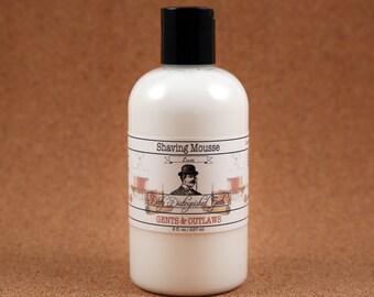 Men's Luxe Shaving Mousse - 8 fl. oz. Bottle - Vegan
