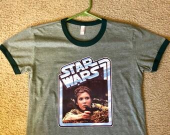 1d15f98496a XL Vintage Princess Leia t shirt   Star Wars   Return of the Jedi