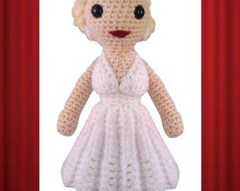Marilyn Monroe Crochet PATTERN ONLY