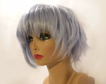 Ice Blue Cosplay Wig