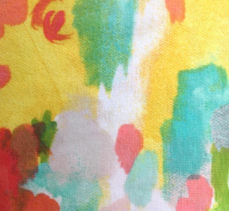 Multi Color 40224J Sunshine Soiree Iza Pearl Designs Sunshine Serenade by Melissa Ybarra 2 58 Yards Cotton-Spandex Jersey Knit