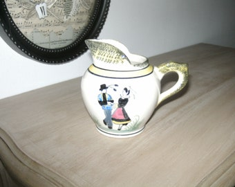 QUIMPER faience milk jug or pitcher