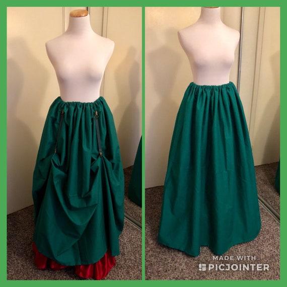 e440e0952 Peasant skirt renaissance skirt pirate skirt SCA skirt dickens   Etsy