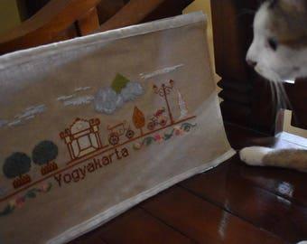 Yogyakarta Istimewa - PDF Cross Stitch Chart