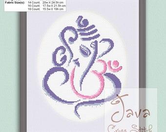 Ganesh/Ganapati/Vinayaka Instant Download PDF Cross Stitch Pattern