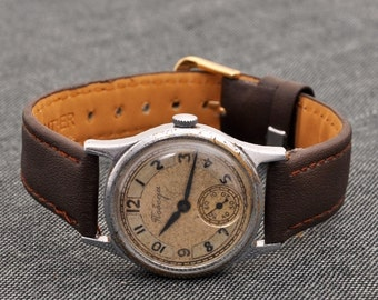 Collectible Pobeda watch made in USSR Vintage made 1950 s / Soviet watches