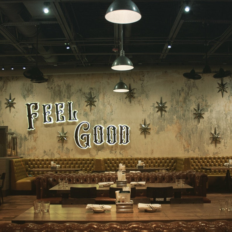 Custom signs, Restaurant Signs, Cafe Signs, Marquee Signs, custom signs,  Business sign, venue sign, Marquee lighted letters, vintage signs