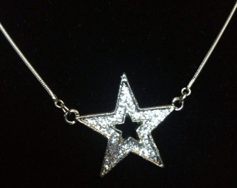 Sparkly Star Choker Necklace - ReCreated Jewelry