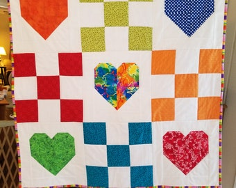 Bright Hearts and Nine Patch