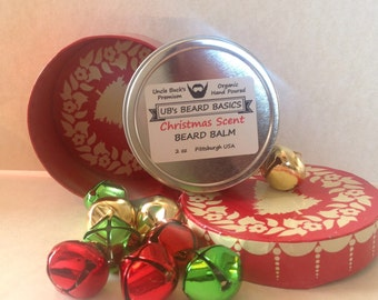 Christmas Scent Balm UB's Beard Basics Limited Edition Seasonal Scent Stocking Baubles for the Beard Baubles for the Beard
