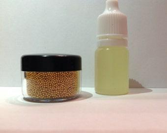 Caviar Glitter Beard Kit Beard Glitter Scented Organic by Beard Basics