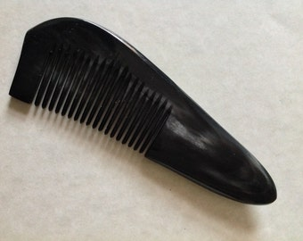 Organic Oxhorn Comb Fine Tooth G9 Antistatic Comb Beard Basics