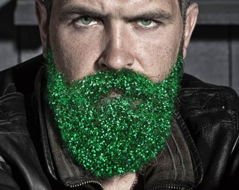 Glitter Beard Kit Double Use Beard Glitter