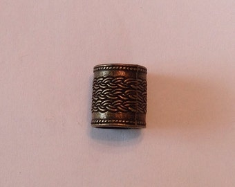 Beard Art Baubles Large Hole Celtic Bronze Beard Bead