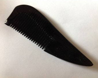 Organic Oxhorn Comb Fine Tooth G8A Antistatic Comb Beard Basics