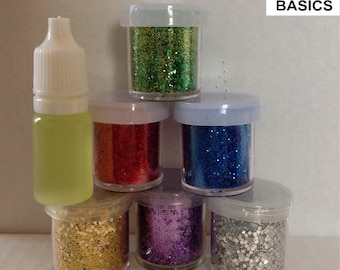 GLITTERBEARD KIT Set of 6 colors by Beard Basics