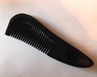 Organic Oxhorn Comb Fine Tooth G8C Antistatic Comb Beard Basics