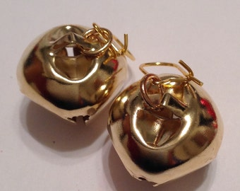 Christmas Ornament Earrings Christmas Bauble Earrings Christmas Earrings Jingle Bell Earrings Christmas Bell Earrings