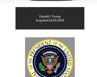 Donald Trump Acquittal Pen Impeachment Acquittal Pen 02/05/2020 President Trump President of the United Stares