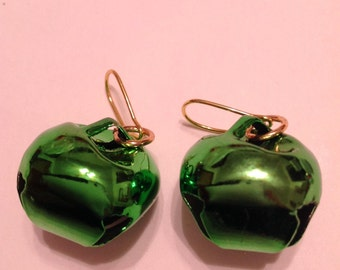 Christmas Ornament Earrings Christmas Bauble Earrings Christmas Earrings Bell Earrings Christmas Bell Earrings Jingle Bell Earrings