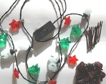 Beard Lights, Nano Beard Lights, Beard Fairy Lights, Beard Bauble Ornaments by Beard Basics,