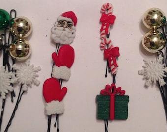 Beard Art Baubles Christmas Bling Hipster gift Set 18QA I'm Dreaming of a White Christmas  Beard Ornament Baubles