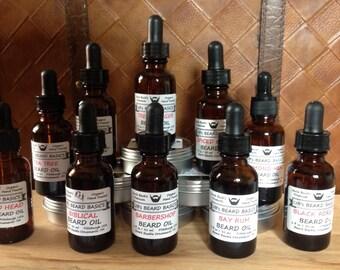 Spiced Citrus Beard Oil UB's Beard Basics 1 oz Bottle