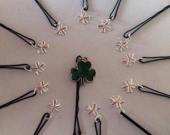 Beard Art Baubles St Patrick's Day Set Hipster Set13 ENAM Mini Pins