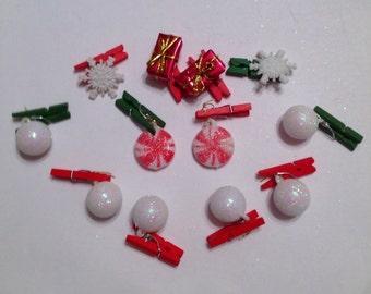Beard Bauble  Ornaments Hipster Christmas Beard for Beard Season Snowballs and Peppermint Set of 12F Beard Bauble Ornaments-TM Official USA