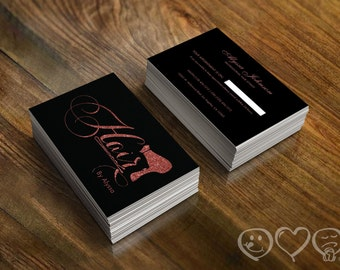 Hair Stylist Business Cards Etsy