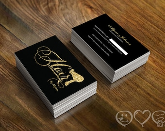 Items similar to hair stylist business cards appointment cards browse more items from etsy reheart Image collections