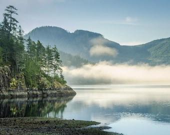 Pacific Northwest Coast: 8x10 landscape photograph.