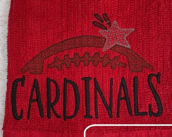 Cardinals Football Embroidery Design - Football Embroidery Design - Cardinals Embroidery Design - Mascot Embroidery Design - Team Embroidery